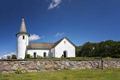 Iglesia de Bollerup en Suecia Fotos de archivo