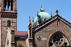 Iglesia de Boston imagen de archivo
