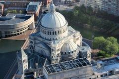 Iglesia de Boston fotos de archivo