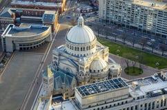 Iglesia de Boston, Massachusetts imagen de archivo