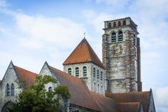 Iglesia de Brise del santo en Tournai, Bélgica Foto de archivo libre de regalías
