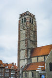 Iglesia de Brise del santo en Tournai, Bélgica Fotos de archivo