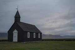 Iglesia de Budir en Snaefellsnes Foto de archivo libre de regalías