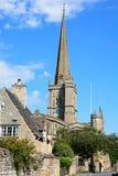 Iglesia de Burford Fotografía de archivo