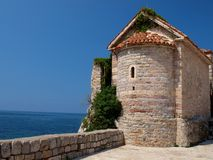 Iglesia de Byzantian Foto de archivo libre de regalías