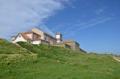 Iglesia de Cabo Espichel, Portugal Foto de archivo libre de regalías