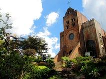 Iglesia de Caleruega Fotografía de archivo libre de regalías