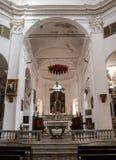 Iglesia de Calvi Fotografía de archivo