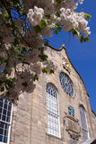 Iglesia de Canongate, milla real, Edimburgo Fotos de archivo libres de regalías