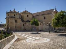 Iglesia de Carmen,  Alhama de Granada, Spain Royalty Free Stock Image
