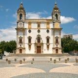 Iglesia de Carmen en Faro, Portugal Fotografía de archivo