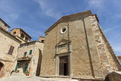 Iglesia de Castiglione foto de archivo