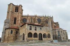 Iglesia de Castro-Urdiales foto de archivo libre de regalías