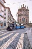 Iglesia de Clerigos, Oporto, Portugal Fotografía de archivo