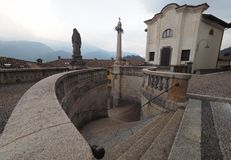 Iglesia de Clusone, Bérgamo, Lombardía, Italia imágenes de archivo libres de regalías