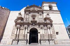 Iglesia de Compania Fotografía de archivo