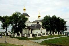 Iglesia de Constantina y de Elena, pequeña ciudad de Sviyazhsk, Rusia Fotografía de archivo