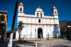 Iglesia de Copan Fotos de archivo