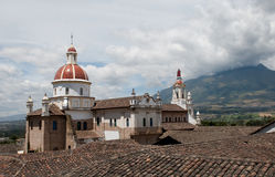 Iglesia de Cotacachi Image libre de droits