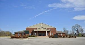 Iglesia de Cristo de Brownsville, Tennessee Building Foto de archivo libre de regalías