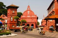 Iglesia de Cristo de Malaca Foto de archivo libre de regalías