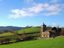 Iglesia de Crosthwaite Fotografía de archivo libre de regalías