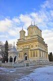 Iglesia de Curtea de Arges Fotos de archivo libres de regalías