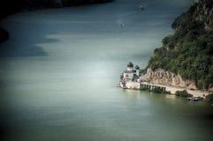 Iglesia de Danubio Imagen de archivo