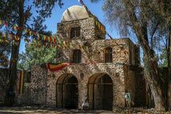 Iglesia de Debra Berhan Selassie en Gondar, Etiopía fotografía de archivo
