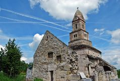 Iglesia de Densus Imagen de archivo