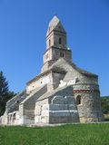Iglesia de Densus - Rumania Imagen de archivo libre de regalías