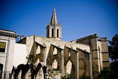 Iglesia de Desiderio del santo en Avignon Foto de archivo