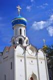 Iglesia de Dukhovskaya de la trinidad Sergius Lavra Mundo Herit de la UNESCO Fotografía de archivo libre de regalías