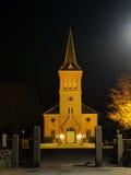 Iglesia de Egebæksvang, Dinamarca foto de archivo