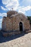 Iglesia de Elías el profeta en Chipre Imágenes de archivo libres de regalías