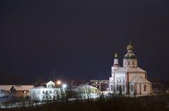 Iglesia de Elías el profeta en Suzdal, Foto de archivo