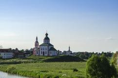 Iglesia de Elías el profeta en Suzdal Fotografía de archivo