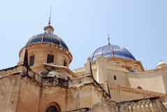 Iglesia de Elche Fotografía de archivo