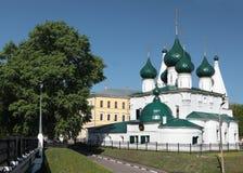 Iglesia de Elijah el profeta en Yaroslavl, Rusia Fotografía de archivo