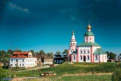 Iglesia de Elijah Prophet - Elias Church - iglesia en Suzdal, Rusia Imagen de archivo