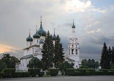 Iglesia de Elijah Prophet en Yaroslavl Rusia Fotografía de archivo