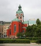 Iglesia de Estocolmo Foto de archivo libre de regalías