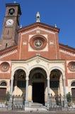 Iglesia de Eufemia del santo, Milano Fotografía de archivo