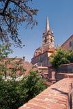 Iglesia de Evanghelical en Sibiu Foto de archivo libre de regalías