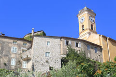 Iglesia de Eze Imagen de archivo libre de regalías