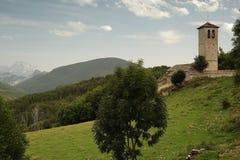 Iglesia de Fanlo Foto de archivo libre de regalías