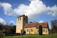 Iglesia de Fingest Foto de archivo libre de regalías