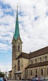 Iglesia de Fraumunster Fotos de archivo libres de regalías