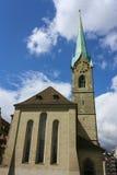 Iglesia de Fraumunster Fotografía de archivo libre de regalías
