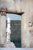 Iglesia de Gaudi Imagen de archivo libre de regalías